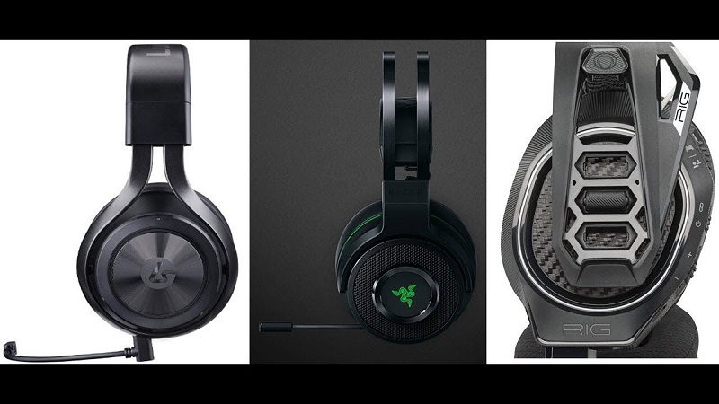 Xbox One Headset Comparison : Lucidsound LS35X, Razer Thresher, and Plantronics Rig 800LX