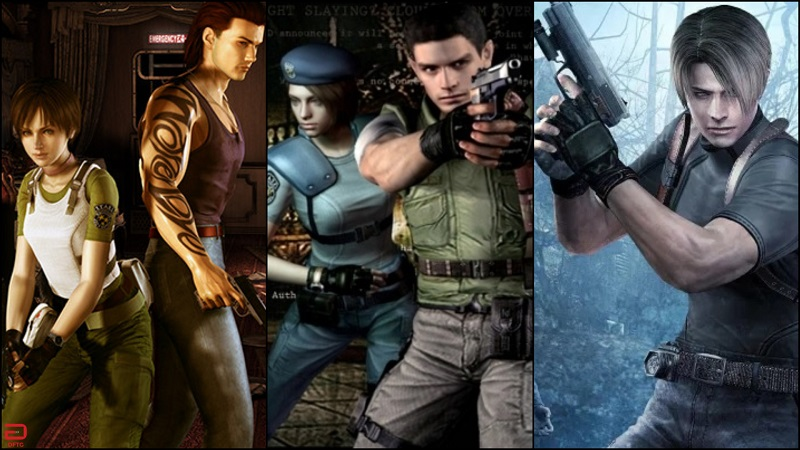 Resident Evil 0, 1, and 4 are coming to the Nintendo Switch this May