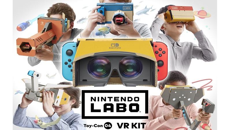 Nintendo Labo : Toy-Con 04 VR Kit Video