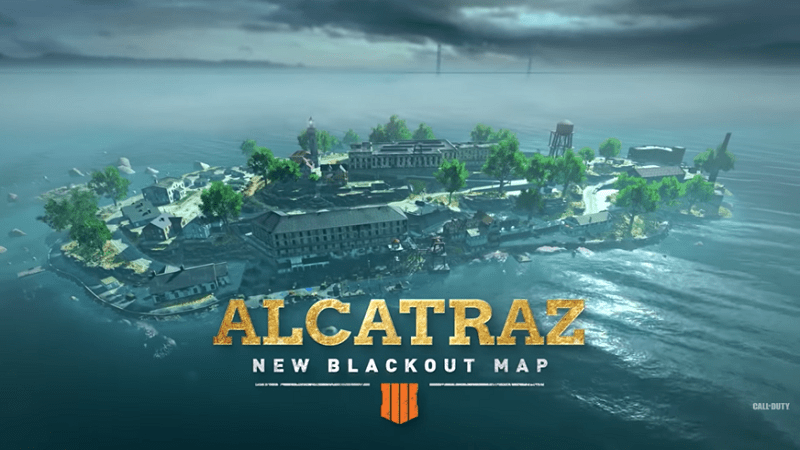 Call of Duty Black Ops 4 : Blackout Introducing Second Map Alcatraz