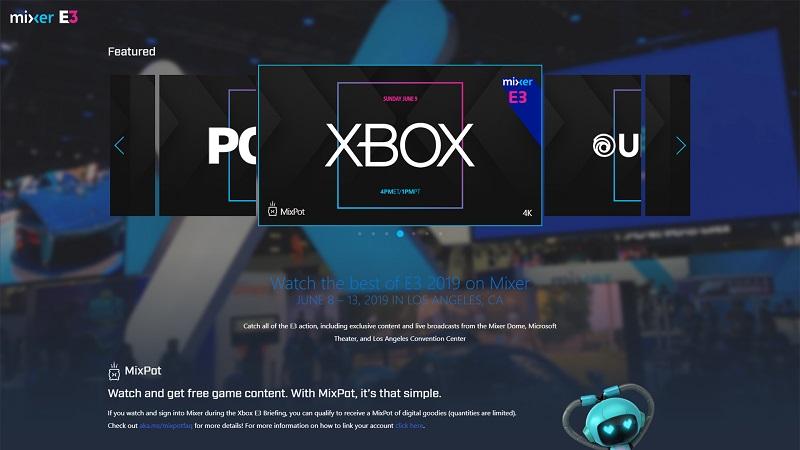 Mixer Details its Live E3 Coverage Including Xbox Fanfest