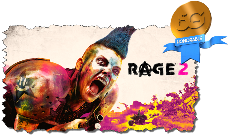 Rage 2Medal