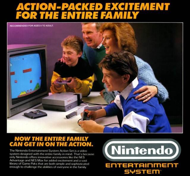 NES ad