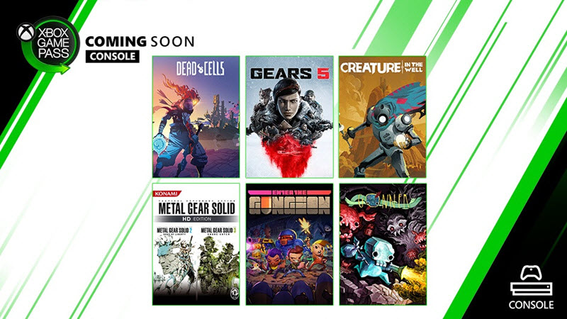 September Arrivals for Gamepass : Gears 5, Dead Cells and more