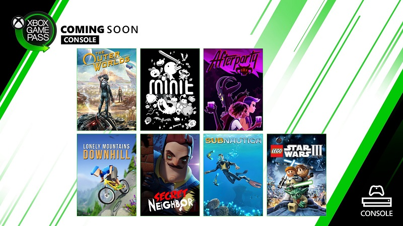 Xbox Announces Seven More Titles for Game Pass with Release Dates