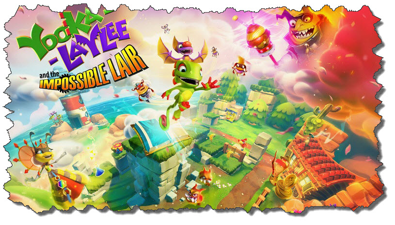 Yooka Laylee and the Impossible Lair Review : Blast from the Past