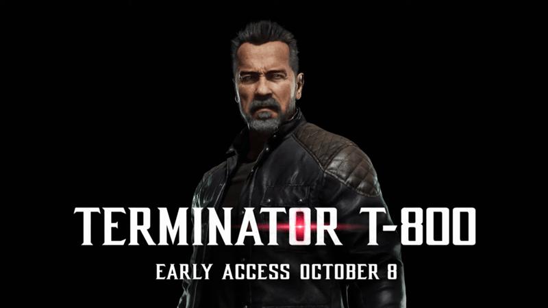 Mortal Kombat 11 Kombat Pack  – Terminator T-800 Gameplay trailer