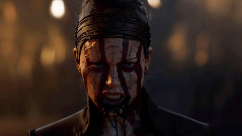 Hellblade 2 : A Stunning Next-Gen Trailer Shocks The Game Awards