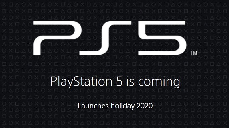 Sony Publishes the Official PlayStation 5 Site