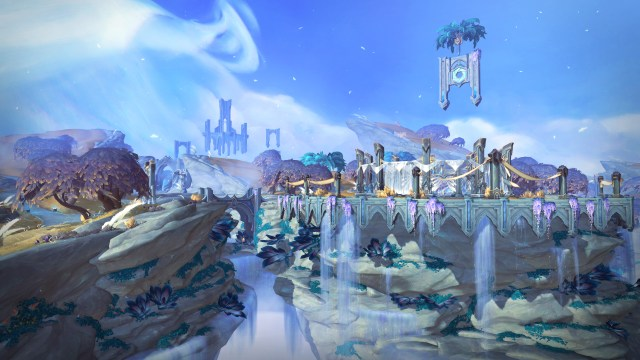 Bastion will be one of the newest areas in Shadowlands, World of Warcraft anticipated expansion