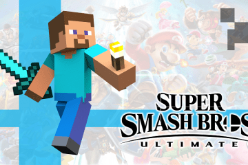 Super Smash Brothers Direct : Minecraft Joins the World