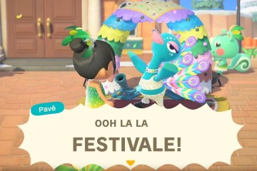 Animal Crossing New Horizons : Festivale Trailer and March Update Tease