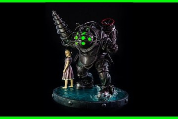 Unboxing : Bioshock Bouncer Exclusive Statue from Gaming Heads