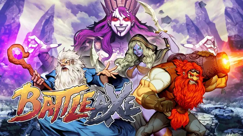 Review : Battle Axe : A Pixelated And Perfected Throwback