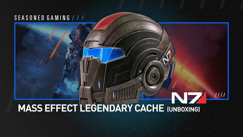Unboxing : Mass Effect Legendary Cache