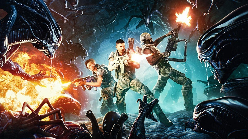 Aliens Fireteam Elite : New Trailer Highlights Co-Op Xenomorph Hunting