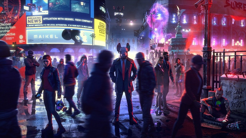 Watch Dogs Legion : Update 4.5 Brings 60fps Setting, Crossplay, and More