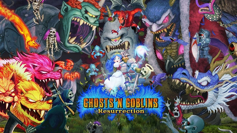 Review : Ghosts N Goblins Resurrection : Resurrecting the Ghosts