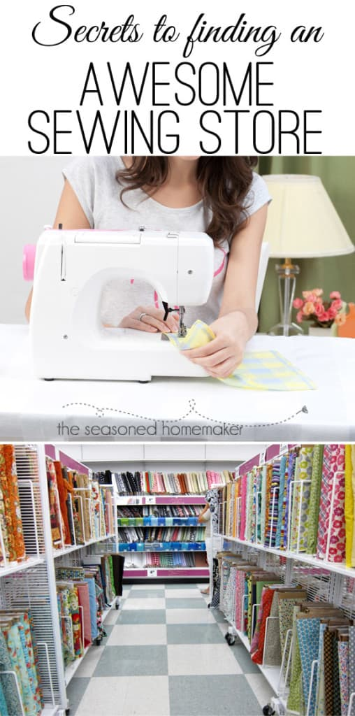 Sewing Stores Near Me : sewing, stores, Secrets, Finding, Awesome, Sewing, Store