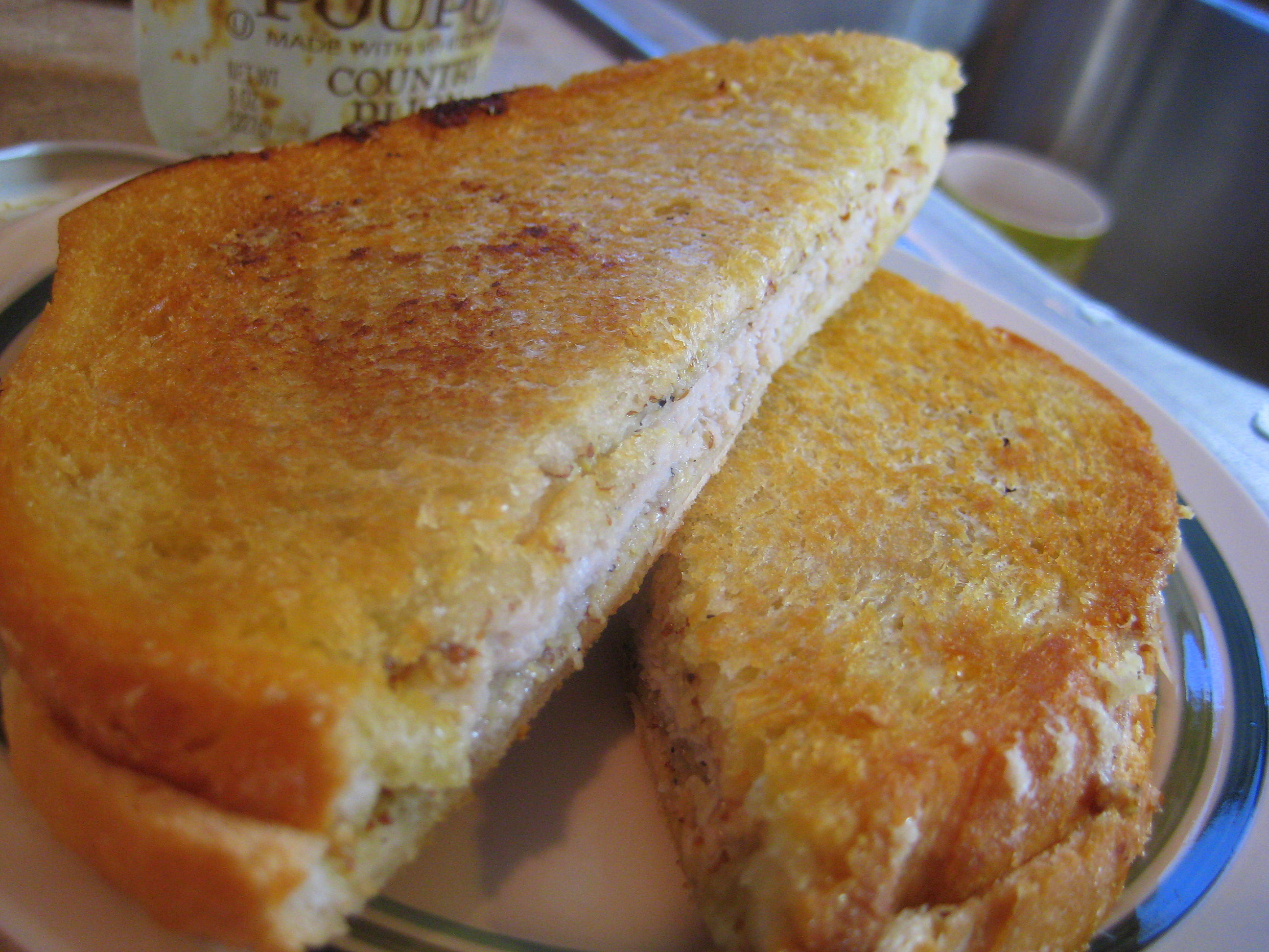 Grilled cheese another way.