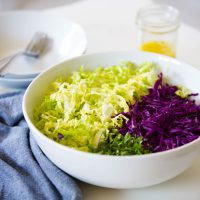 Napa Cabbage Salad with Lemon Vinaigrette