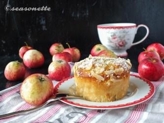 Apfel-Mandel-Marzipan-Kuchen glutenfrei