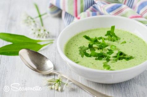 Bärlauch-Suppe