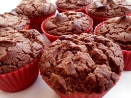 Recipe: Chocolate coconut muffins (wheat-free, gluten-free, low sugar, low carb, paleo)