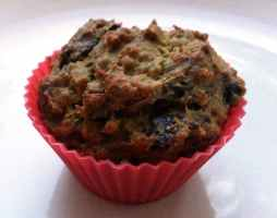 Recipe: Vegan banana chocolate chunk muffins