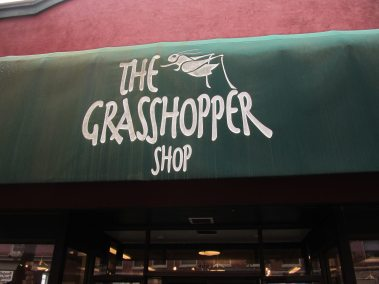 Grasshopper shop.. Has almost anything in that store