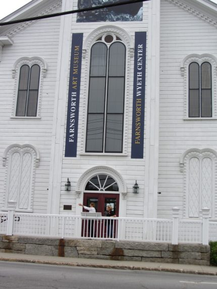 Farnsworth museum in Rockland Maine