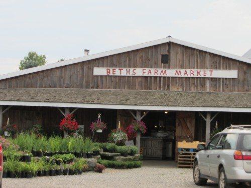 Beth's Farm Market at White Oak Farms in Warren, Maine