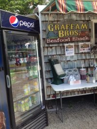 A great lunch place in Rockport Maine. Graffam Brother's Lobster shack