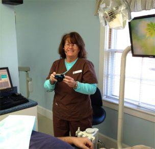Nellie Clark of Seasons of Smiles Dental.