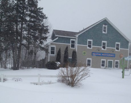 Yes we do have a Mexican Restaurant in Camden Maine, Blue Sky Cantina. Blizzard Nemo