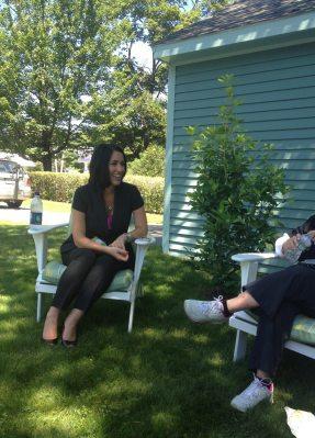 Kristin Pelletier visits Seasons of Smiles Dental