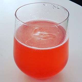 Red Currant Syrup Juice