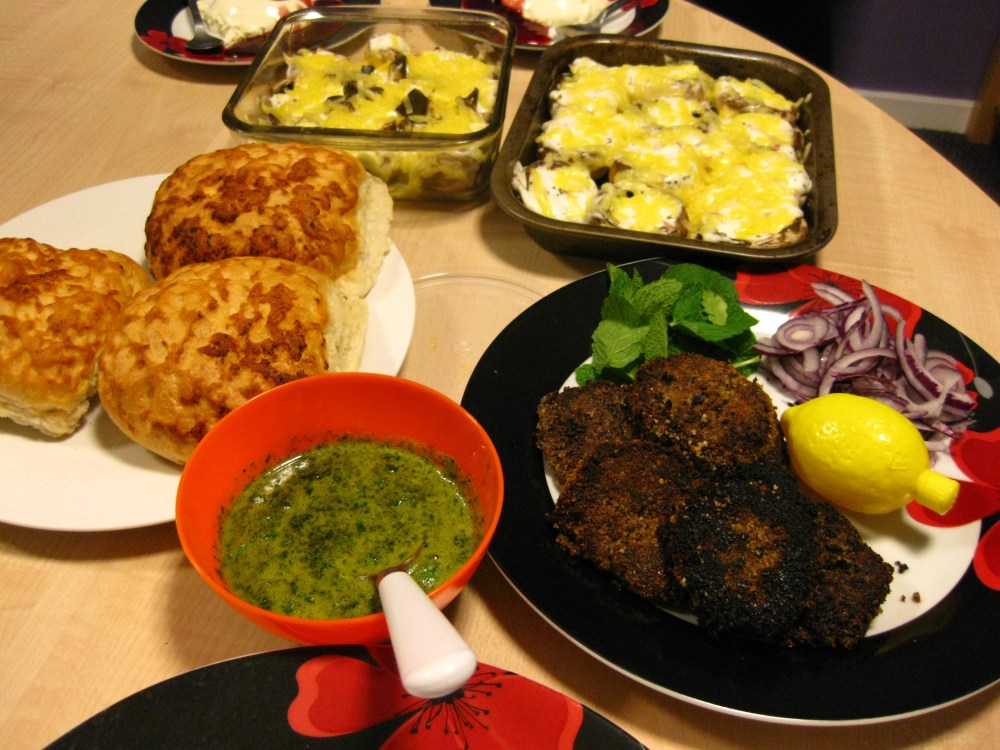 A meal for friends - Lamb Keema (mince) kebabs (3/3)