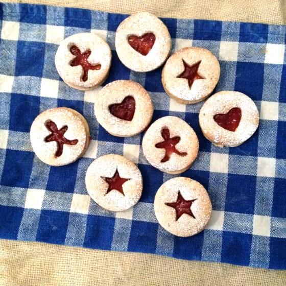 """<img src=""""linzer-cookies.jpg"""" alt=""""linzer Cookies"""" />"""