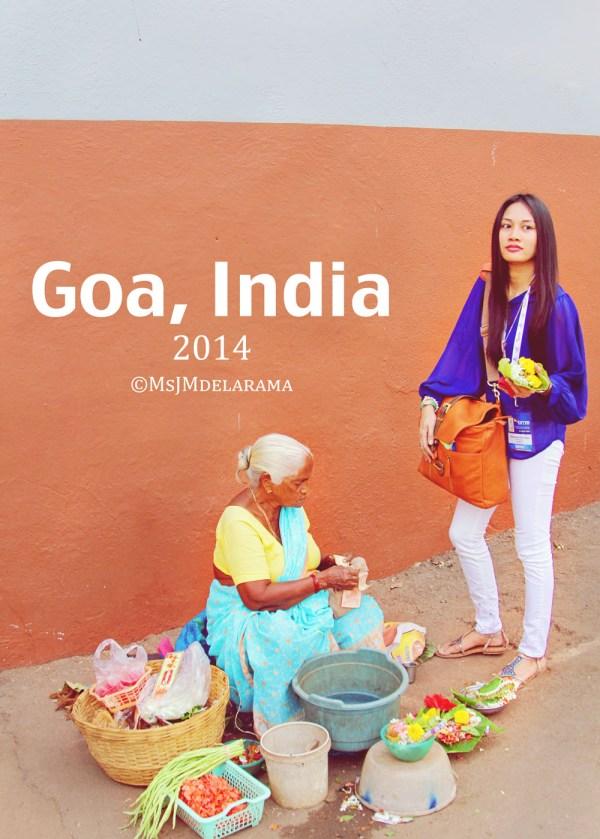 Goa India Flower Vendor Colors