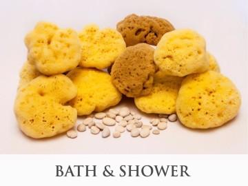 Bath & Shower sponges - product category, SeaSponges.eu