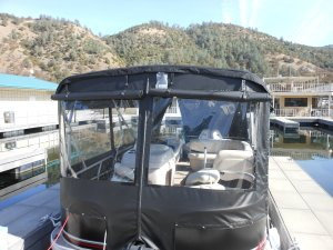 Pontoon-enclosure-resize - Seaspray Awnings & Boat Covers