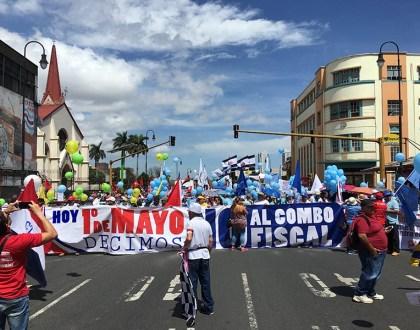 Primero de Mayo en la calle