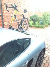 Porsche Cayman S Bike Rack – The Mini Bomber Solution