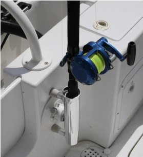 SeaSucker Aluminium Rod Holder in use