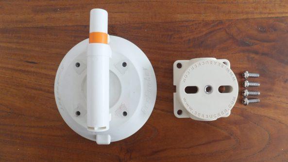 114 mm Vacuum Mount components
