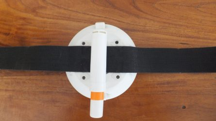 114 mm Vacuum Mount with Velcro