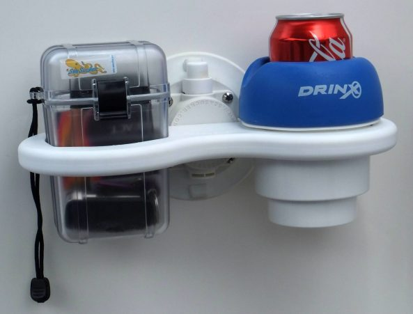 SeaSucker 2 Cup Holder with DrinX Insert and Small Dry Box