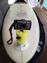 Surfboard Camera Mount