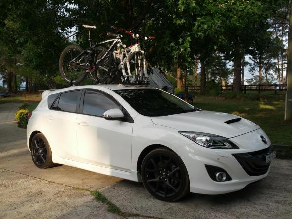 Jason Flint's Mini Bomber - Mounted on Mazda 3 MPS